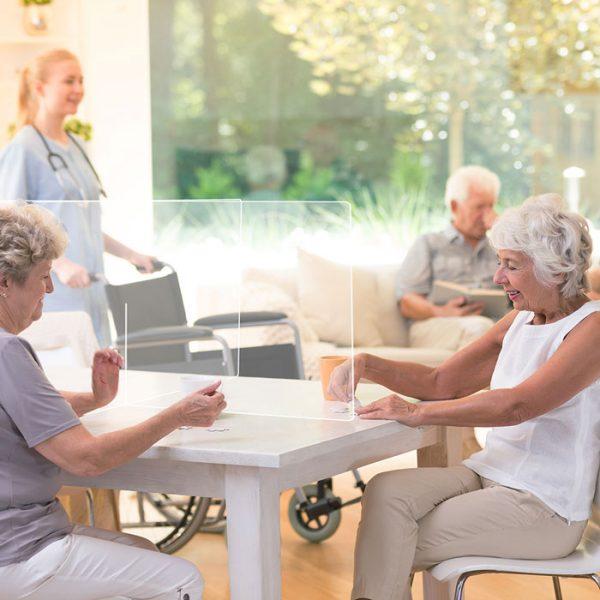 Mamparas para residencias modelo Ibiza 3 Grupo Zona