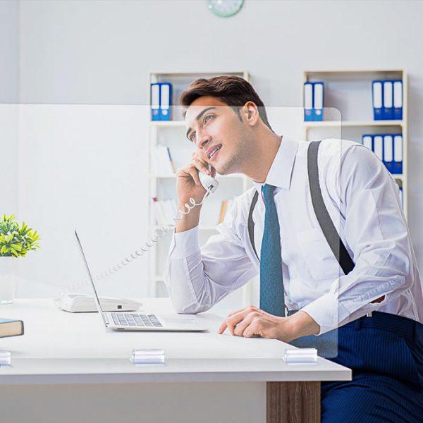 mampara metacrilato separadora low cost para oficinas modelo seattle 4