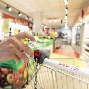 Spray de limpieza para superficies, higienizantes con logo personalizadas grupo zona