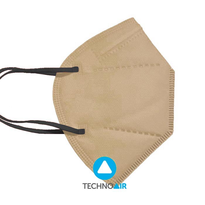 Mascarillas TechnoAir reutilizables color beige Grupo Zona