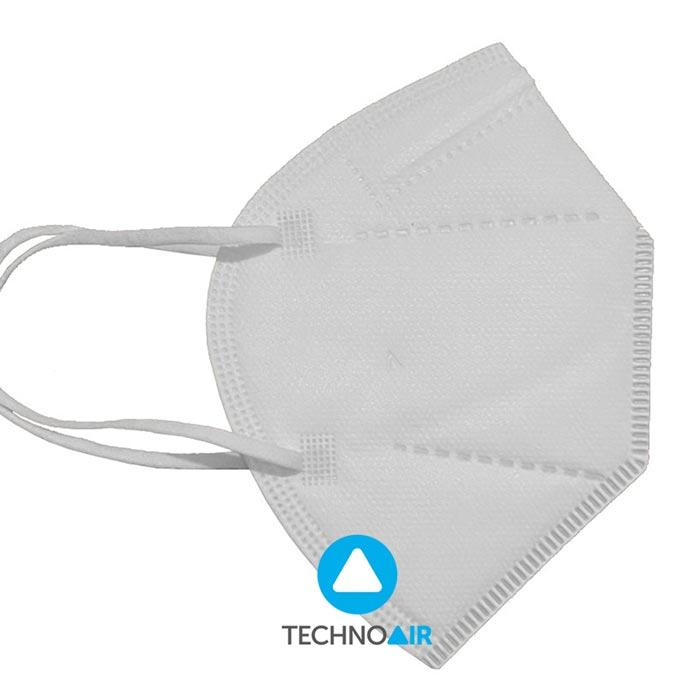 Mascarillas TechnoAir reutilizables color blanco Grupo Zona