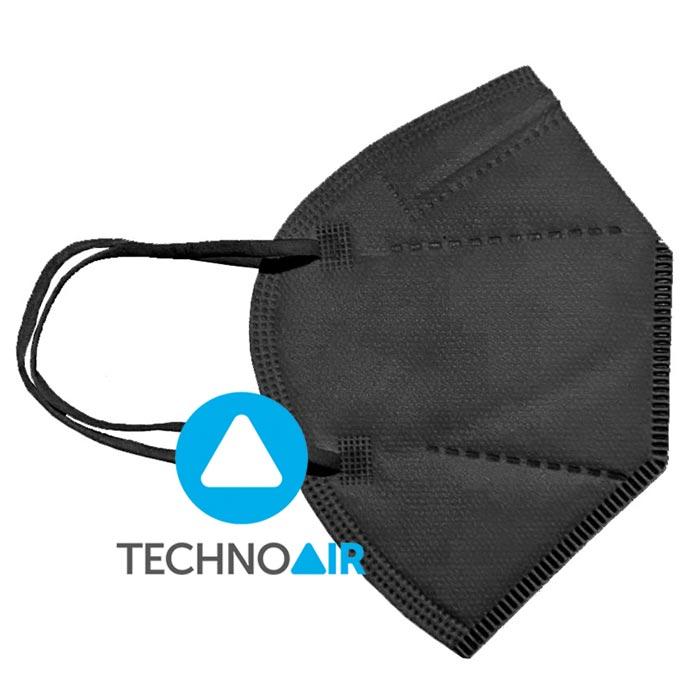 Mascarillas-higiénicas-Techno-Air-FFP2-Negras-Grupo-Zona