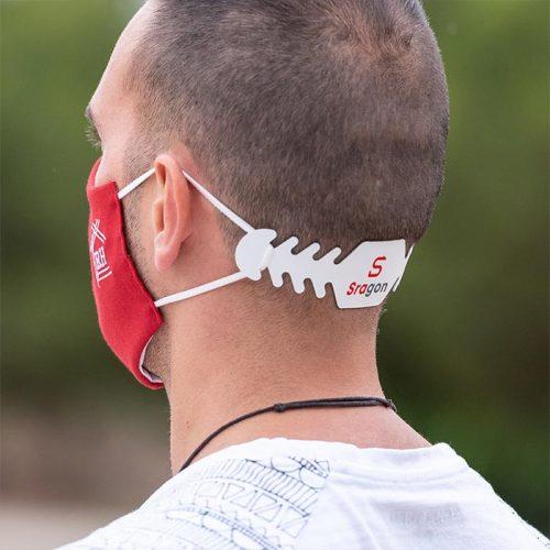 Ajustador de mascarilla personalizable con logo impreso Grupo Zona